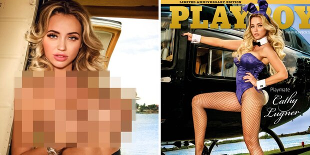 Playboy-Cover: So sexy ist Cathy Lugner