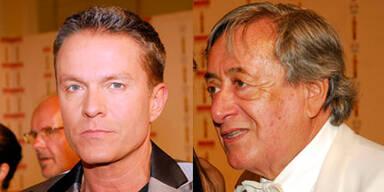 Richard Lugner und Alfons Haider
