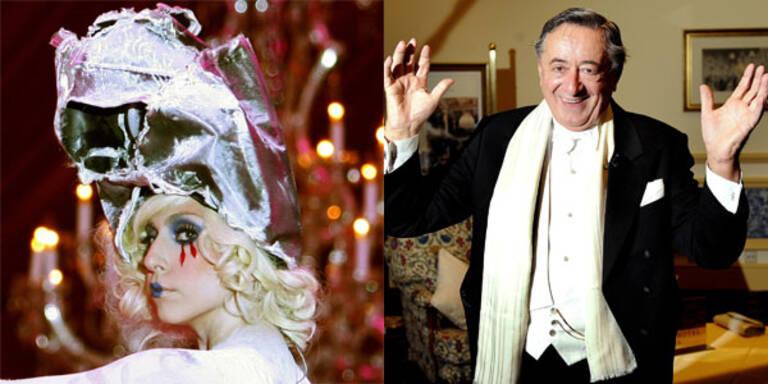 Richard Lugner und Lady Gaga