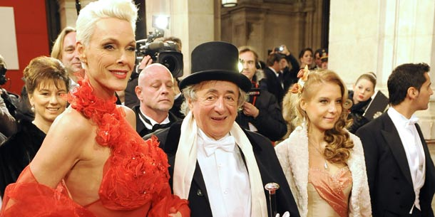 Opernball: Richard Lugner, Brigitte Nielsen, Katzi