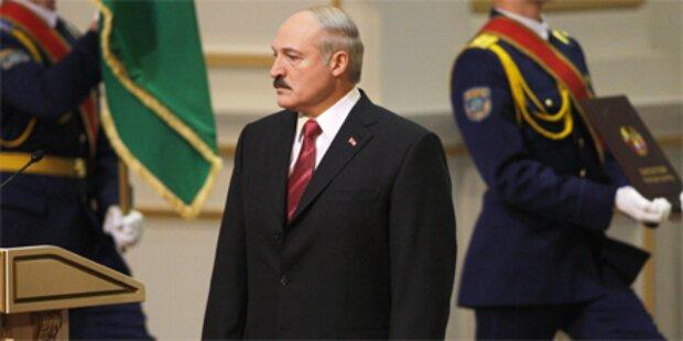 Lukaschenko in Weißrussland vereidigt