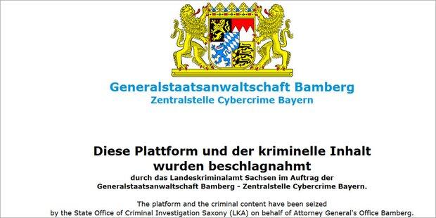 Illegales Download-Portal
