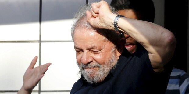 Lula darf Amt als Stabschef antreten