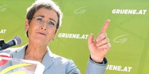 Grüne: Wahlkampf-Abschluss in Wien