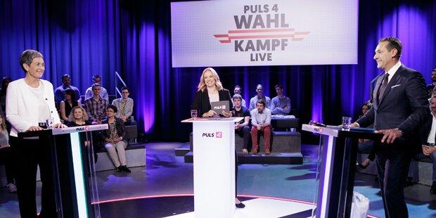 Strache verzichtet auf ORF-Duell mit Lunacek