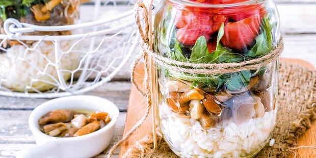 Die besten Lunch-Ideen im Glas