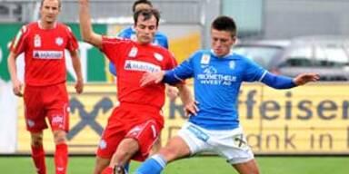FC Magna kommt in Lustenau nicht über Remis hinaus