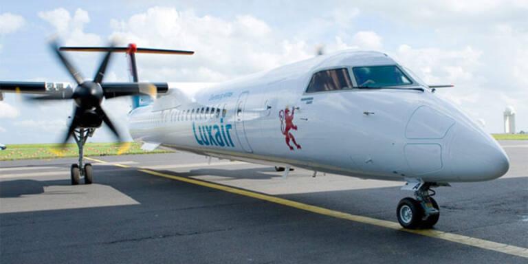 Luxair-Maschine landet beim Start auf dem Bauch