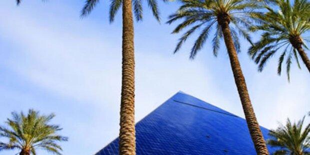 Pyramide und Co: Schlafen in einer Kopie