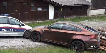 In Innsbruck: Gestohlener Luxus-BMW nach wilder Verfolgungsjagd gestoppt
