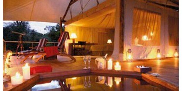 Die schönsten Luxus-Camps