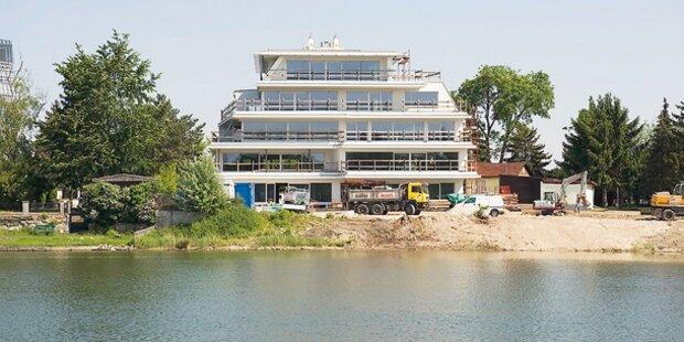 Immobilien-Krieg an der Alten Donau
