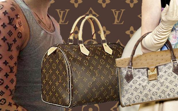 Der Mann mit dem Louis Vuitton-Arm
