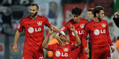 VfB geht bei Leverkusen unter