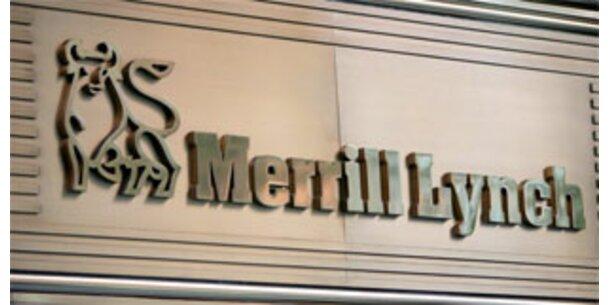 Merrill Lynch fährt Milliarden-Verlust ein