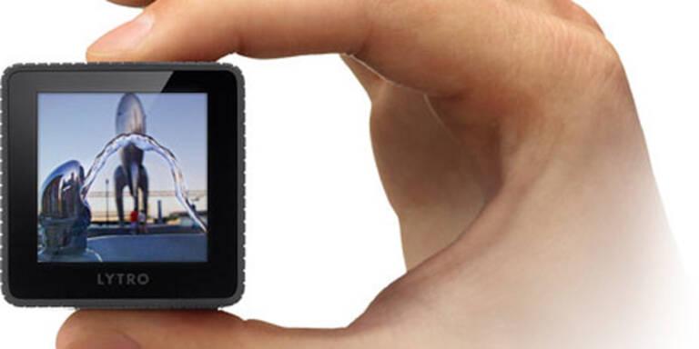 Lytro will digitale Fotografie revolutionieren