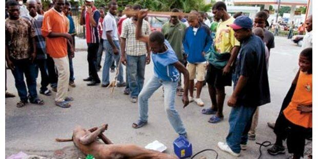 Haiti: Jetzt herrscht Lynch-Justiz