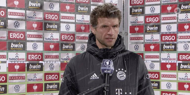 Nach Blamage: Bayern-Star Müller mit Wut-Interview