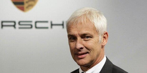 Porsche-Chef Müller wird neuer VW-Boss