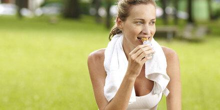 Müsliriegel hat mehr Fett als Hamburger