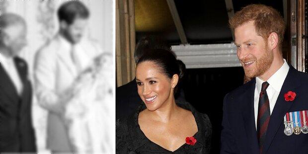 Meg und Harry zeigen neues Foto von Baby Archie