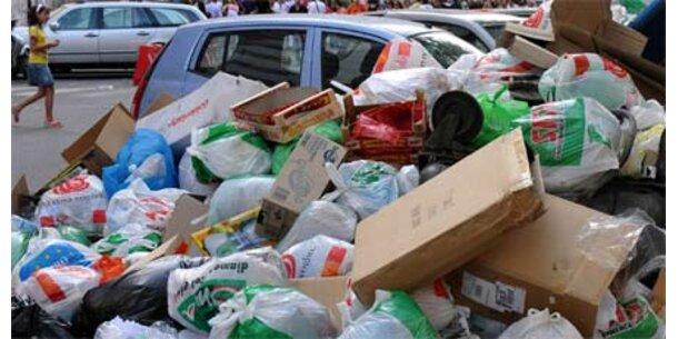 Müllindustrie stöhnt wegen Krise