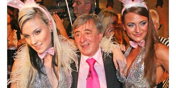 Richard Lugner: Betti-Hasi als Geburtstags-Schreck