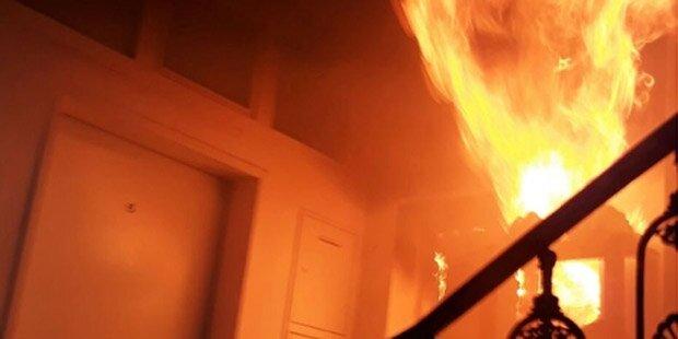 Brand in Ottakring: 11 Verletzte