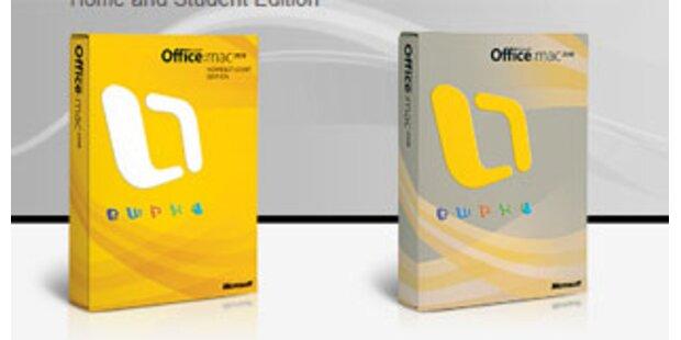 Brandneue Office-Version für den Mac
