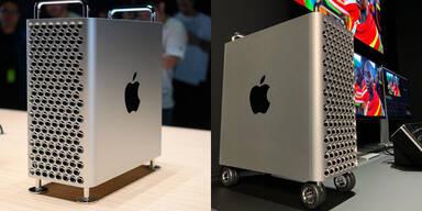 Rollen für Mac-Pro-Gehäuse teurer als iPhone 11