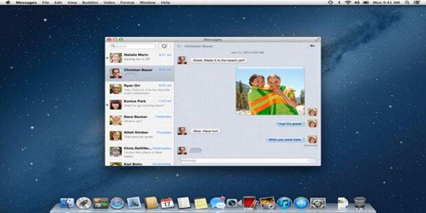 Mac OS X Mountain Lion ist da