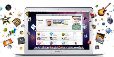 Apples Mac App Store ist gestartet