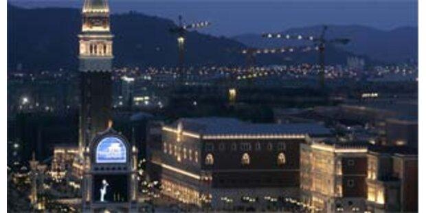 Macau erhält größtes Spielcasino der Welt