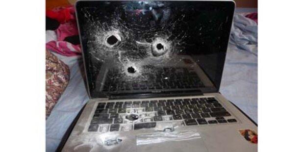 Israelische Zöllner zerschossen MacBook