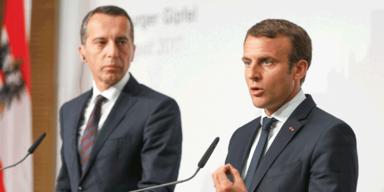 Präsident Macron erobert Salzburg