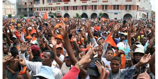 Panik nach Popkonzert auf Madagaskar