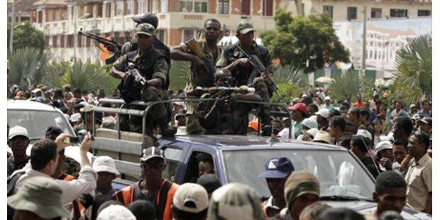 Soldaten-Putsch auf Madagaskar