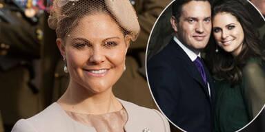 Prinzessin Madeleine, Kronprinzessin Victoria, Chris O'Neill