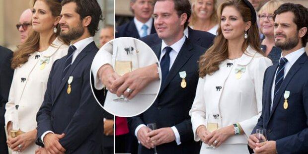 Madeleine, was hast du denn da in der Hand?