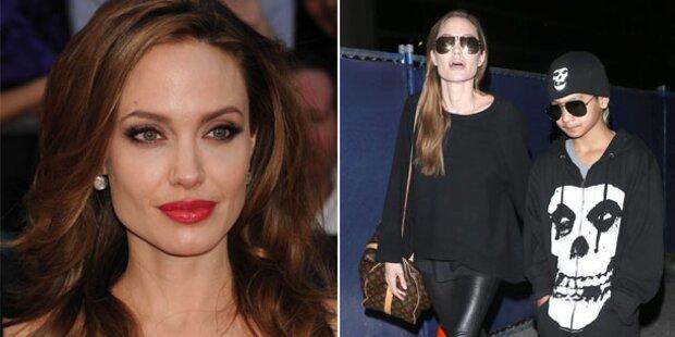 Angelina Jolie spielt Amor für Sohn Maddox