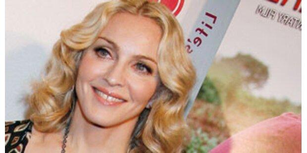 Madonna macht jetzt auf