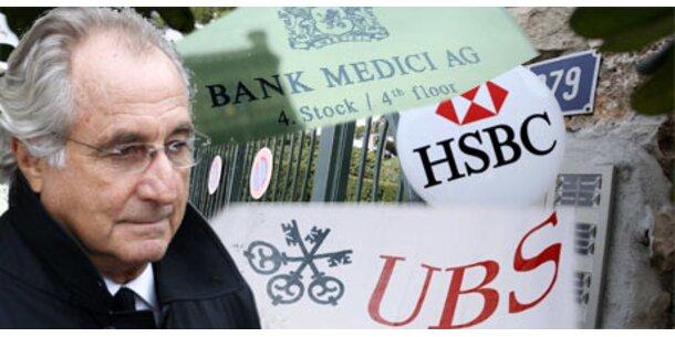 Klage gegen in Madoff-Skandal verstrickte Banken