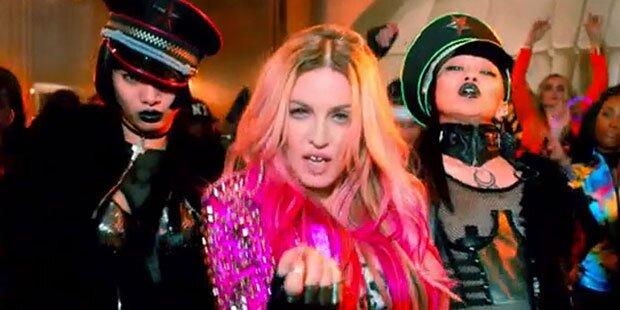 Madonna: Größter Star-Clip aller Zeiten