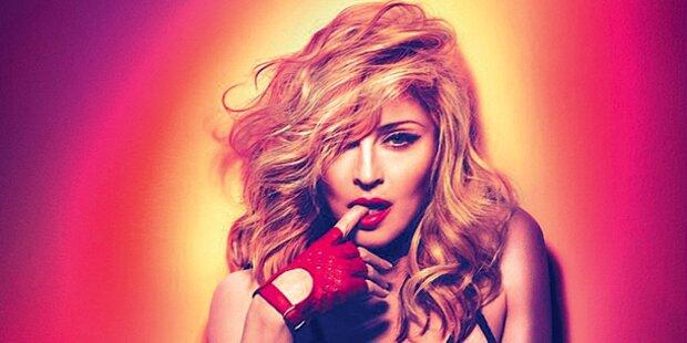 Madonna: Mit Bett & Jacuzzi auf Tour