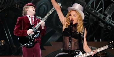 Madonna: Schütteltrauma nach Sturz
