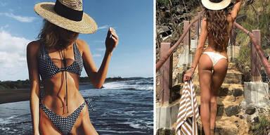 Victoria's Secret Models auf Urlaub