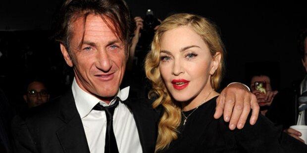 Madonna lädt Sean Penn zu Weihnachten ein