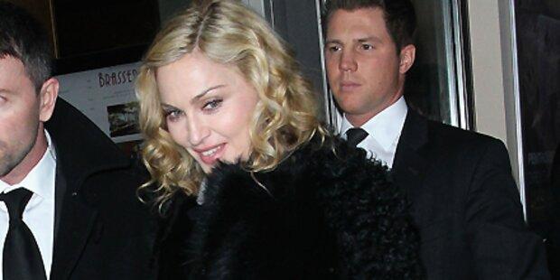 Madonna verscherbelt Film in Berlin