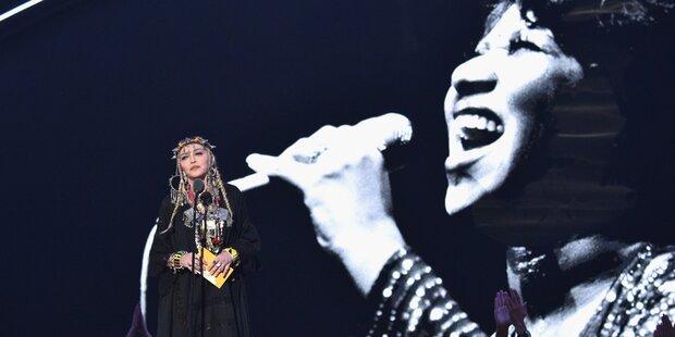 Madonna: Shitstorm für Fanklin-Tribute