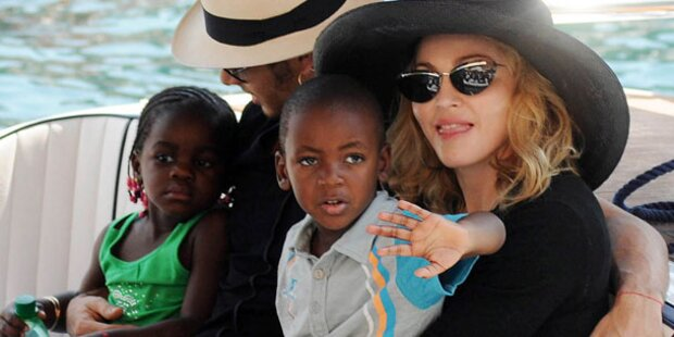 Madonna: Ärger mit Afrika